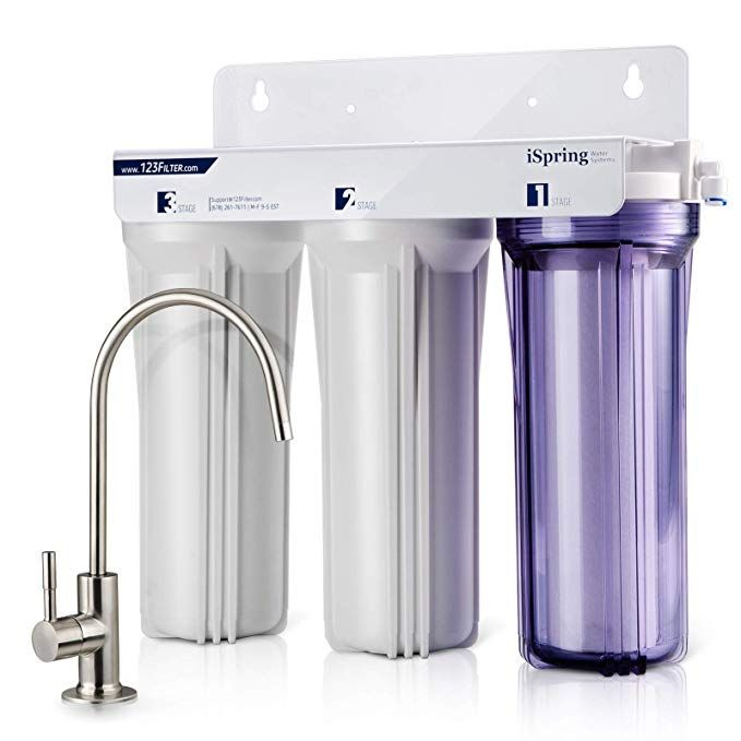 Ispring Us31 3 Stage Under Sink High Capacity Tankless Drinking
