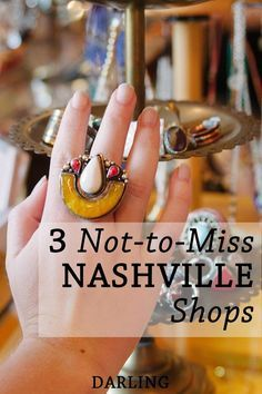 Where to Shop in Nashville | DARLING | Photo by Hannah Swift