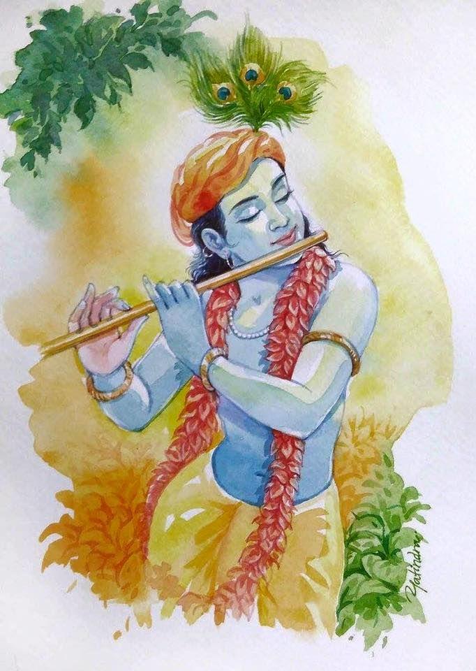Krishna by Yatindra.