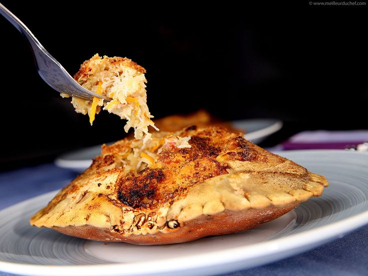 Crabe farci - Fiche recette avec photos - MeilleurduChef.com