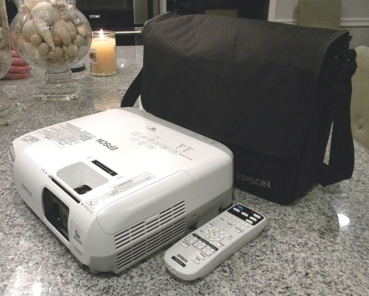 Epson PowerLite 98 HDMI HD Home Theater Computer Projector NEW LAMP 3000 Lumens
