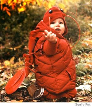 Costume Idea: Baby Lobster Costume | Parenting