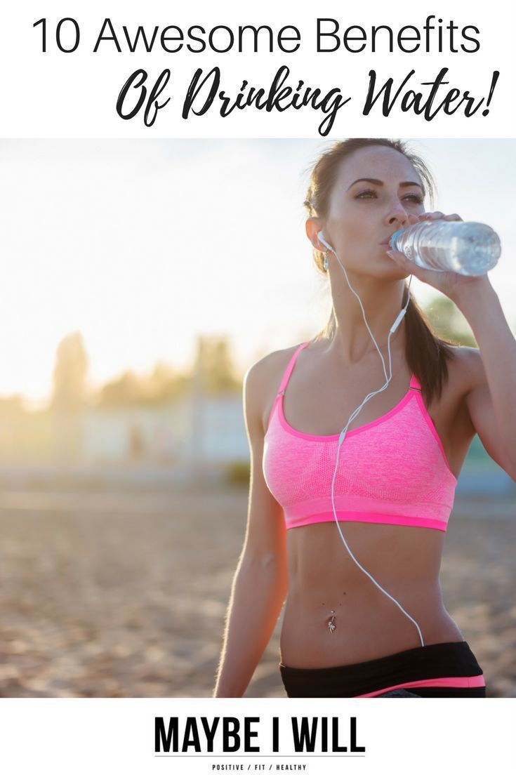 10 Benefits of Drinking More Water! These benefits will inspire and motivate everyone to drink more!!