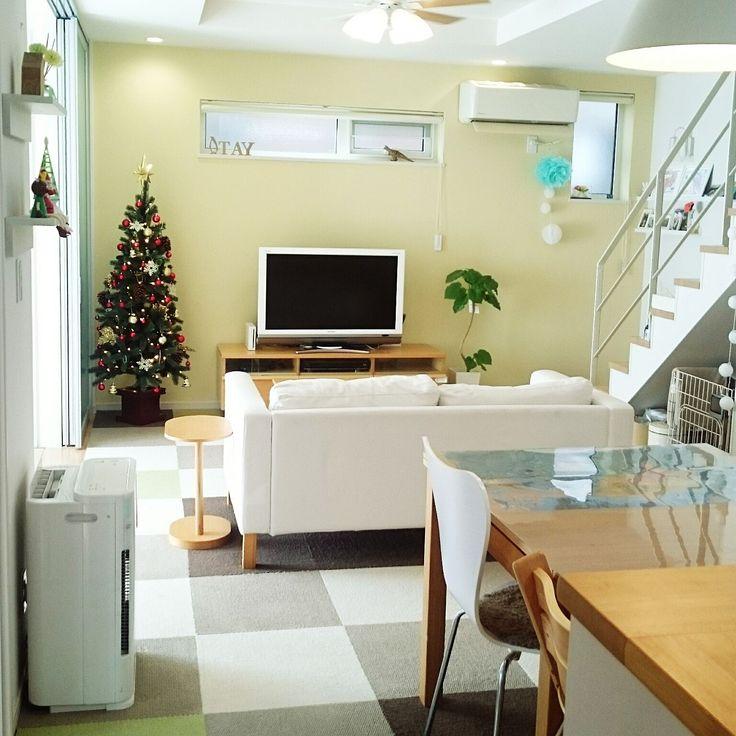 テレビ周り×ニトリ×クリスマスツリーのまとめページ   RoomClip (ルームクリップ)