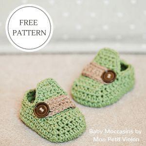 pdf baby moccasin bootie pattern Mon Petit Violon | Free patterns - Mon Petit Violon