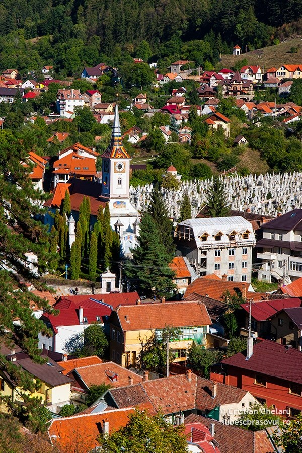 Brasov, Romania.  Been there Loved it!