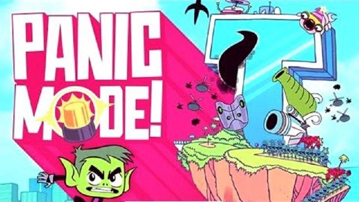 Em Jovens Titãs Panic Mode!, Cerebro e seu exercito invadiram a torre dos Jovens Titãs e somente Mutano pode salva-los. Mas para isso ele vai precisar de sua ajuda. Ajude Mutano ativar a defesa, através do modo pânico e com isso acabar com todo o exercito do Cerebro. Divirta-se jogando com Jovens Titãs!
