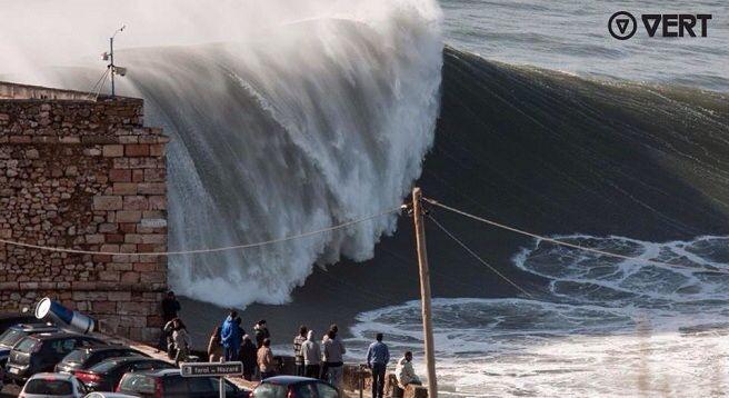 Une des plus grosses vagues du monde
