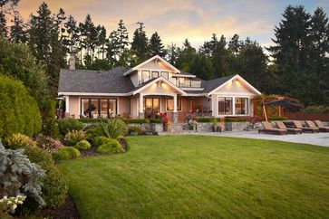 Lantzville 1 Residence - traditional - exterior - vancouver - by Richardson Homes Ltd
