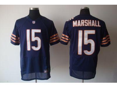 nike nfl chicago bears #15 brandon marshall blue[Elite][marshall]