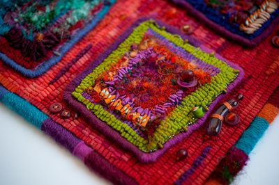 Textile Art - Diane Krys Studio