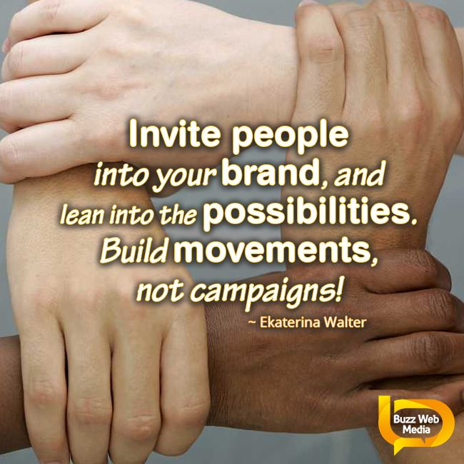 Create a positive experience for your customers and they will become your advocates #Brand