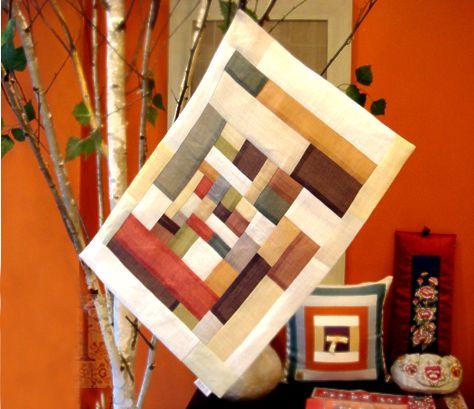 모시조각보 Ramie Material pattern wrapper
