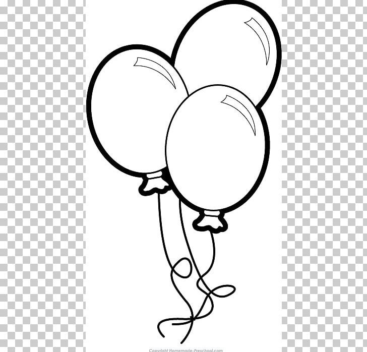 Balloons clipart black and white png balloon clipart
