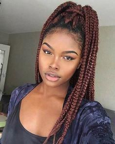 18 Braids Hairstyles – #Braids #hairstyles #kinnla…