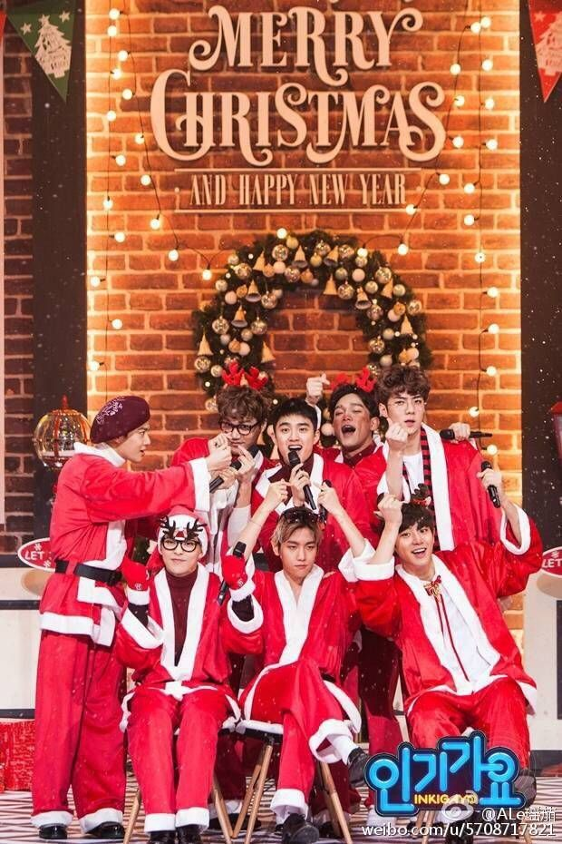 1279 best exo images on pinterest celebs exo exo and happy for Happy christmas vs merry christmas