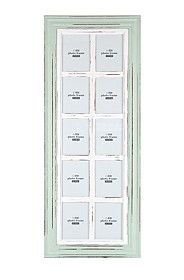 WINDOW FRAME MULTI PHOTO FRAME, 10 PICTURE