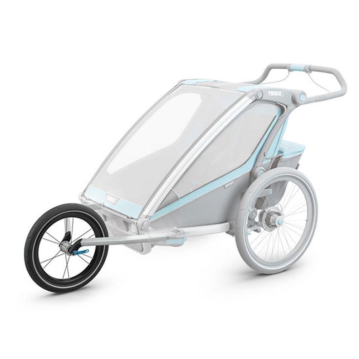 Chariot Lite Cross Jog Kit 1 Black Silver Kids Bike Accessories Bike Seat Kids Bike