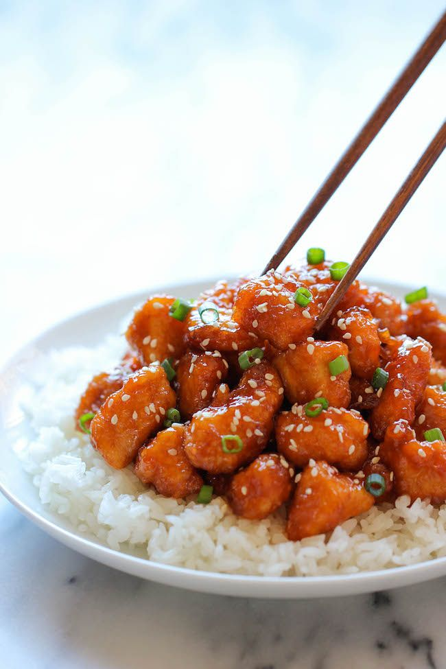 Baked Sweet and Sour Chicken - No need to order take-out anymore - this homemade version is so much healthier and a million times tastier!  Excellent made with gluten-free Tamari soy sauce.