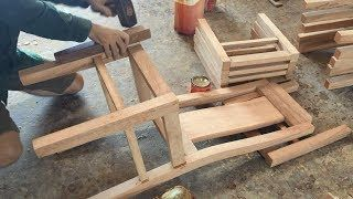 Woodworking Skills Extremely Smart Of Carpenter - Building Dining Chair Fastest And Most Beautiful - https://youtu.be/ypdE5ryNyvM Woodworking Skills Extremely Smart Of Carpenter - Building Dining Chair Fastest And Most Beautiful  Woodworking Skills Extremely Smart Of Carpenter - - #Woodworking