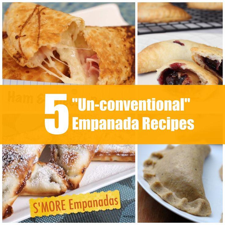 """5 """"Un-conventional"""" Baked Empanada Recipes"""