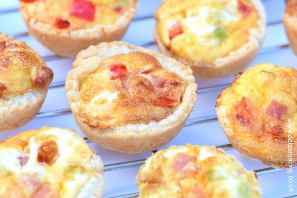 Easy Mini Quiches Recipe | Eats Amazing | Bloglovin'