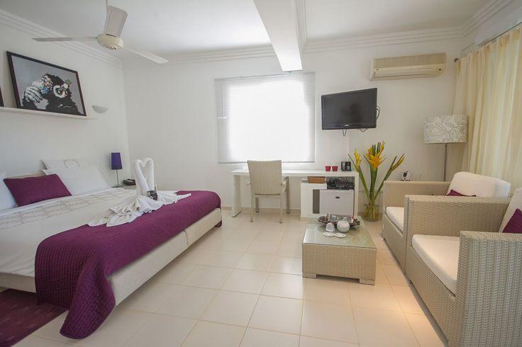 Bedroom at Casa Veintiuno in Sosua, Dominican Republic