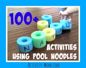 100+ Pool Noodle Activities for Kids - Learning activities, costumes, decor, parenting hacks, and more!