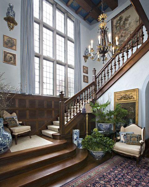 The Enchanted Home: English country living....ah... those windows