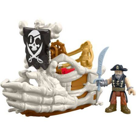 Fisher-Price Imaginext Billy Bones Ship - Walmart.com