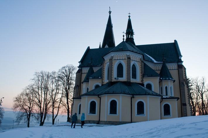 Slovakia, Levoča - Marian Hill, Mariánska hora