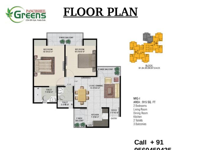 Beautiful Project Now in Panchsheel Greens Call + 91-9560450435 - Page 4
