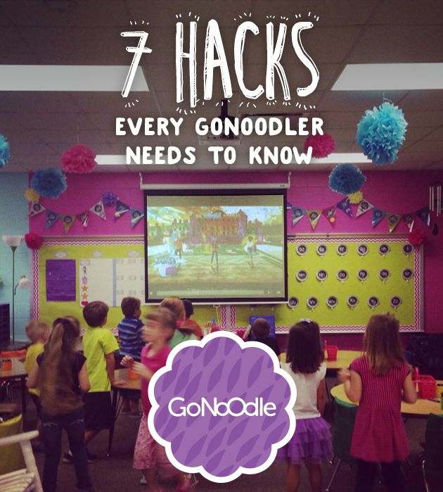 7 Hacks Every GoNoodler Needs To Know - Free Brain Break Videos with GoNoodle