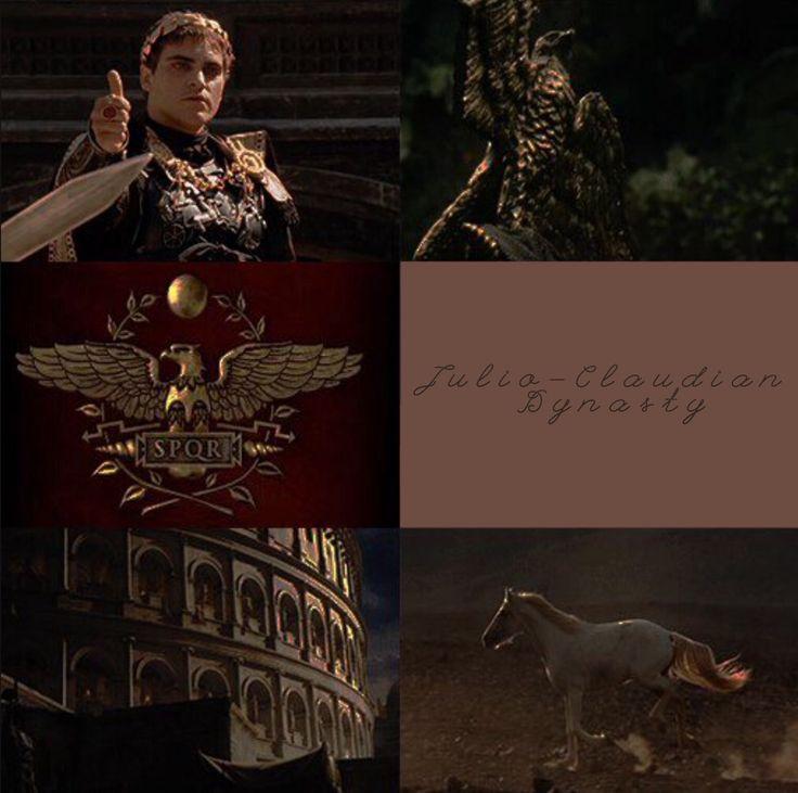 Julio-Claudian dynasty aesthetic #RomanImpire #history