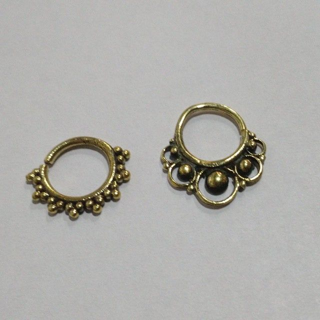 Novas jóias de septo, indianas e exclusivas!!! #septo #joia #piercing #studio13