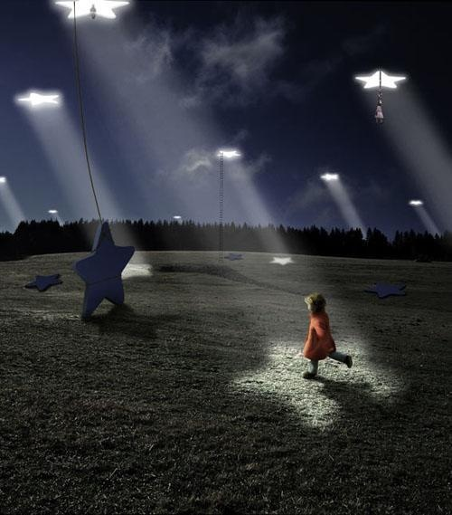 ♂ Dream imagination Surreal Photo Illustrations by Alastair Magnaldo