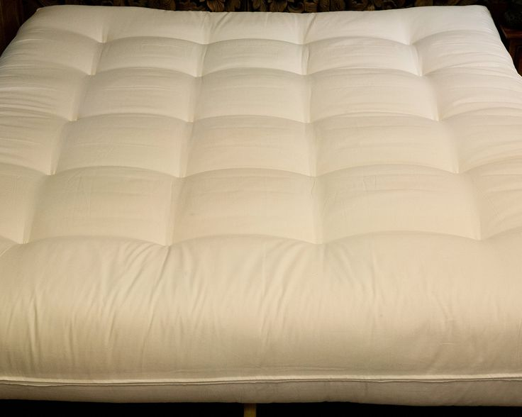 Cotton Cloud Futons - Alberta Style - Deluxe Cotton and Foam Core California King Size Futon
