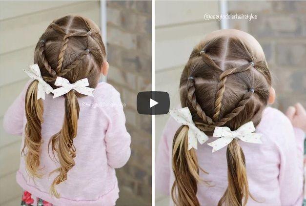 Kids hairstyles, #rope #twist #split | Hair #Arrangement #allnatural girl hairstyles, #beautiful hairstyles for kids, #cool hairstyles for kids girls, #easy #hairdos for kids, easy hairstyles for kids, easy hairstyles for #school, good hairstyles for