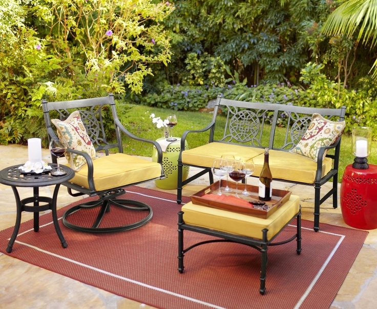 Our Elegant Lantau Collection Is Asian Inspired And Easy On The Eyes. Love  Yellow. Outdoor RugsOutdoor PatiosOutdoor ...