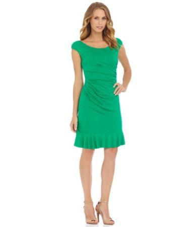 Betsey Johnson Pleated Bottom Sheath Dress | Dillards.com