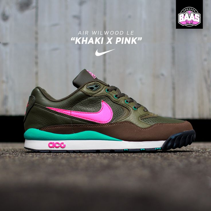 "Nike Air Wildwood Le ""Khaki x Pink"" 