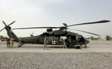 Medevac Helicopters in Iraq and Afghanistan