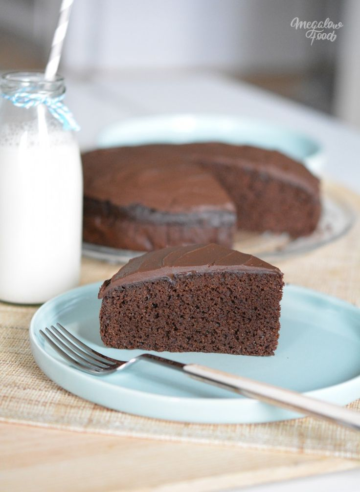 Chocolate fudge cake - sans gluten, IG bas Gluten free, Low GI