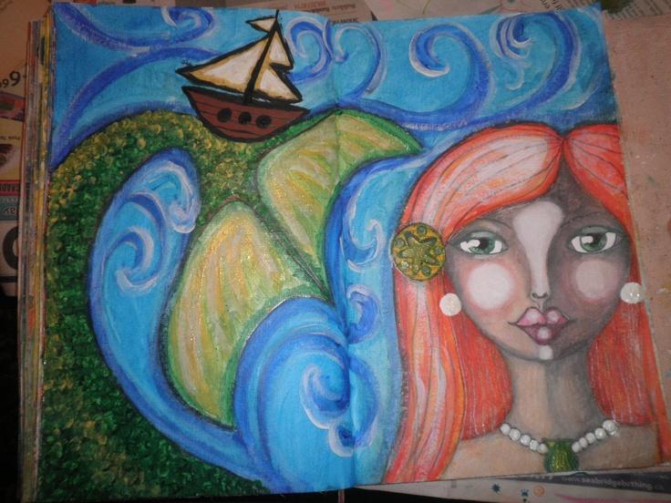 Mermaid by Jackie Peniuk