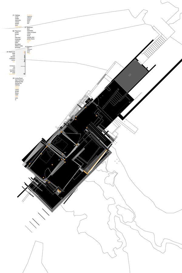 House of Leaves_: Exploration #5 final design by Peter Baldwin, via Behance