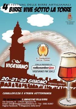Birre Vive Sotto la Torre Dal 20 al 22 giugno il Castello Sforzesco di Vigevano ospita il festival della birra artigianale