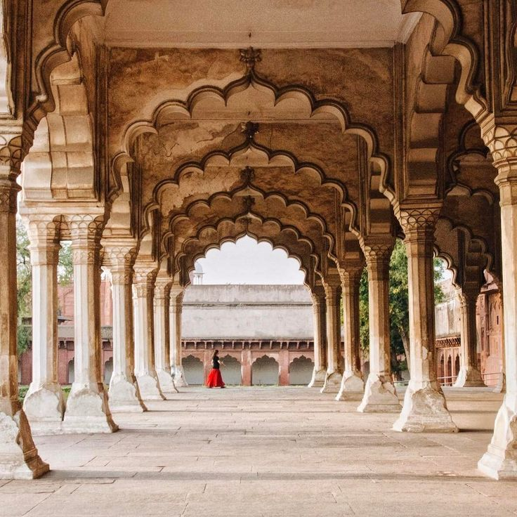 The Agra Fort, India
