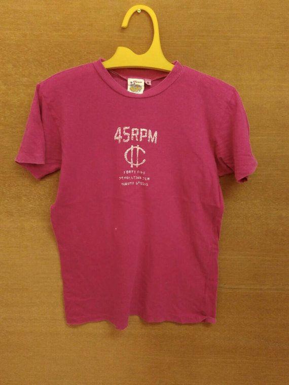 Vintage 45rpm Forty Five Revolution Per Minute Studio so M shirt by ArenaVintage