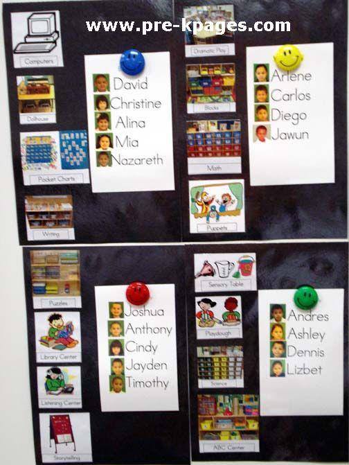 Pre-K | Preschool | Kindergarten | Play Centers | Management | Pre-K Pages