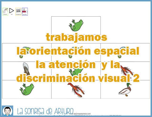 La Sonrisa de Arturo: Fichas de discriminación visual y orientación espacial